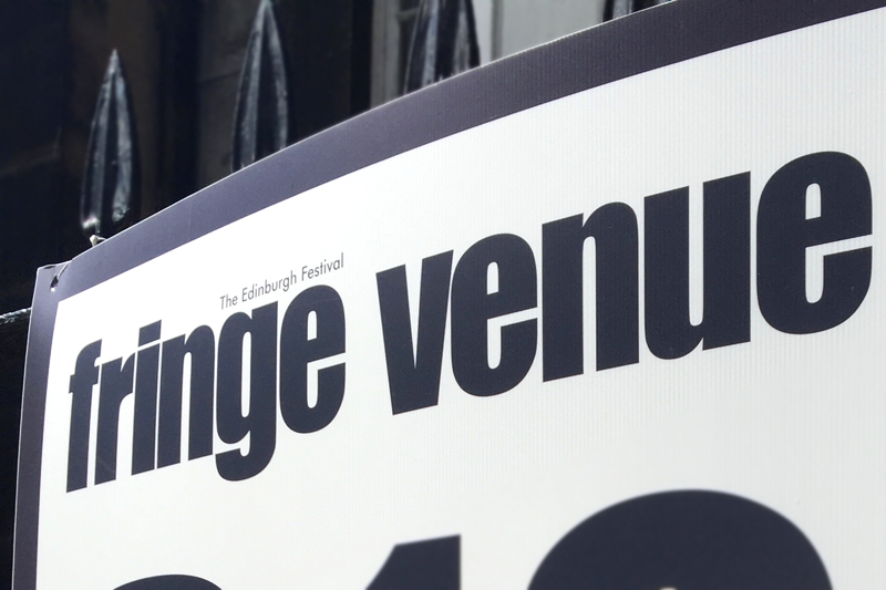 Edinburgh Fringe Venue Sign