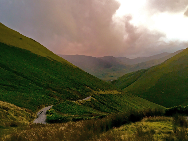 Road to Buttermere in the Lake District