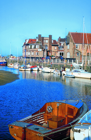 Blakeney village and its harbour is a pretty spot to visit