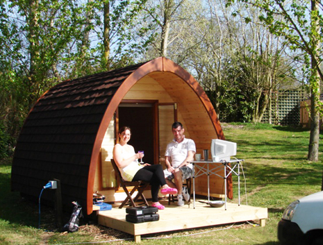 Photo of Daisy Bank Touring Caravan Park camping pods