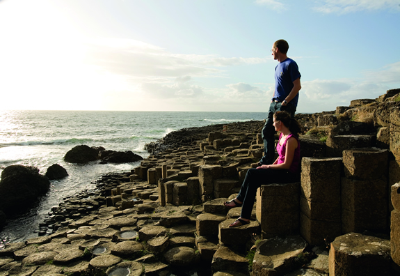Giants Causeway is great for sunsets