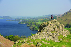 Rocky outcrops are ideal picnic spots, only if you've remembered to take one!